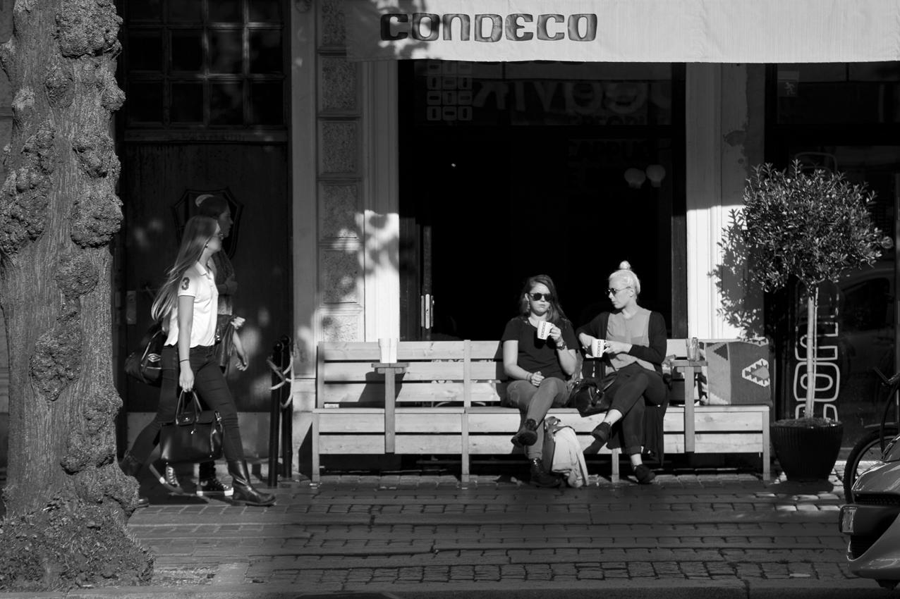 Street scene Gothenburg