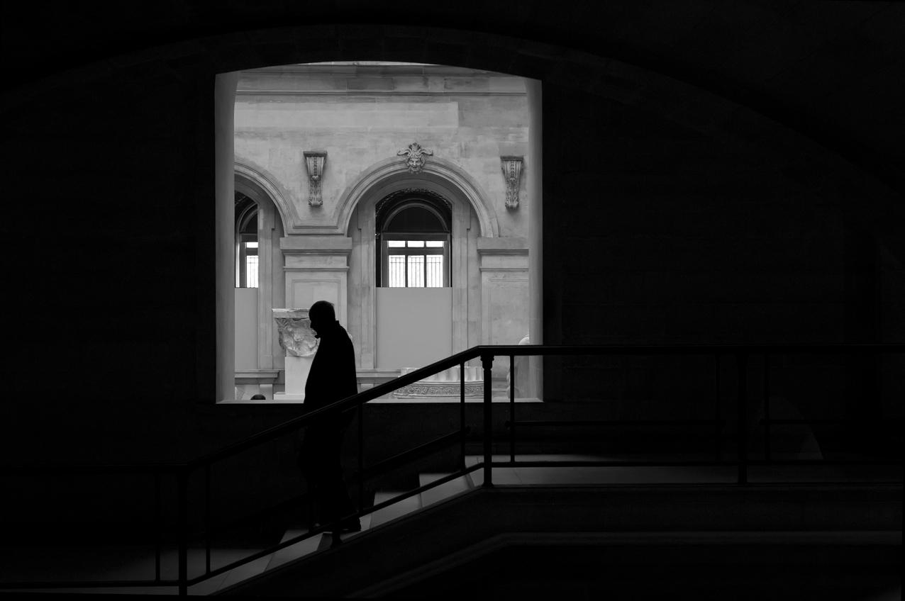 Louvre Silhouette