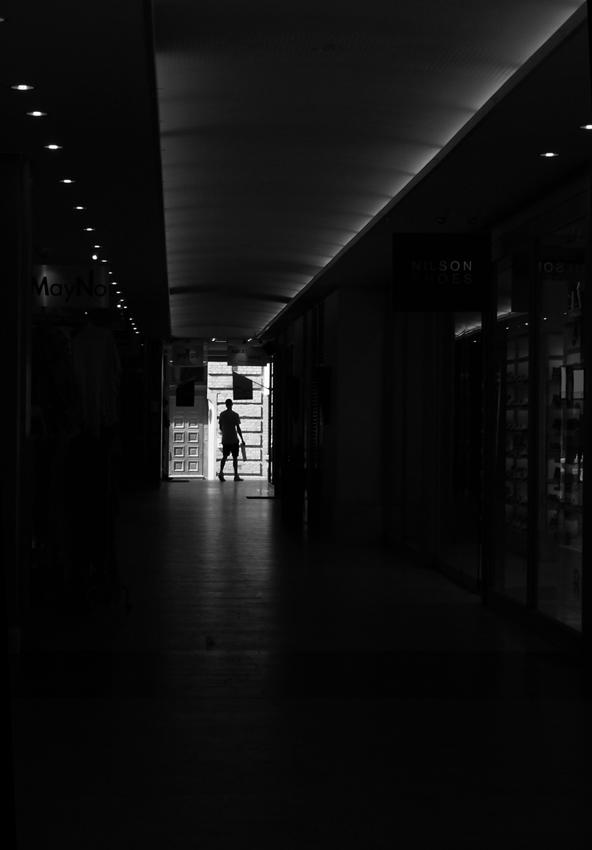 A Shadow in the door