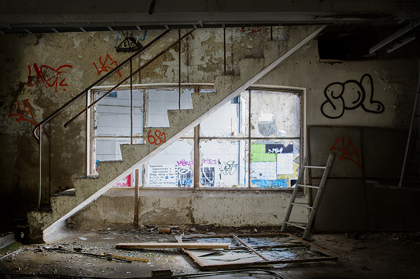 Stairs - Urban Exploration Photography