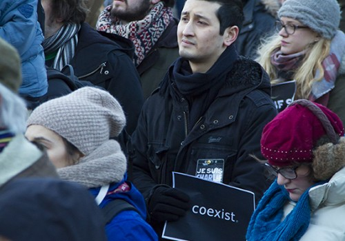 Coexist - Je suis Charlie Rally