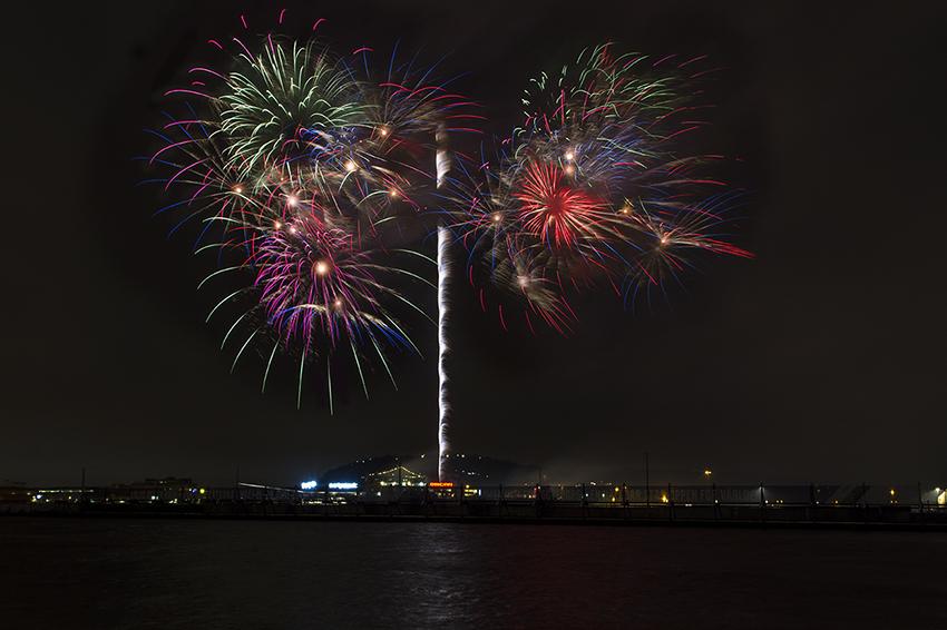 New Year Fireworks - Goteborg Photography