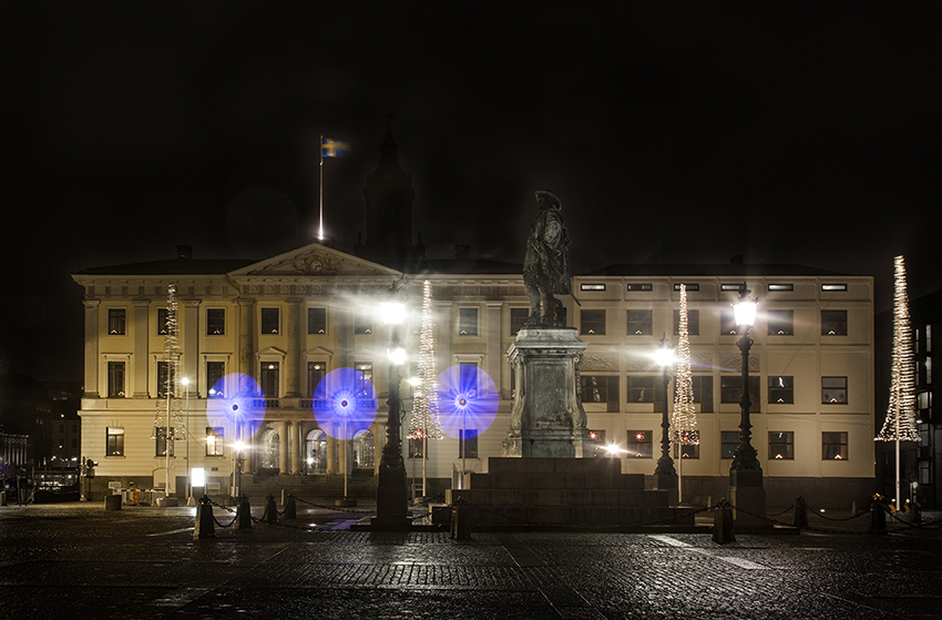 City Hall at Night - Goteborg Photography