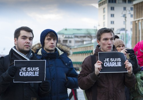 Je suis Charlie Rally
