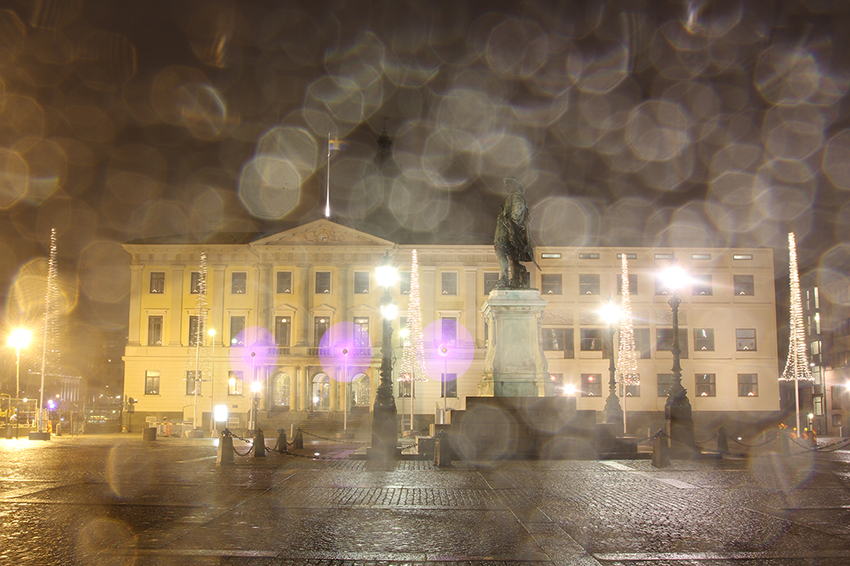 City hall in the rain - Goteborg Photography