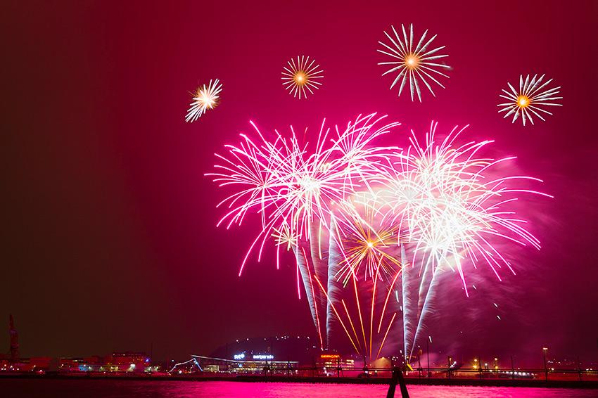 Gothenburg New Year Fireworks