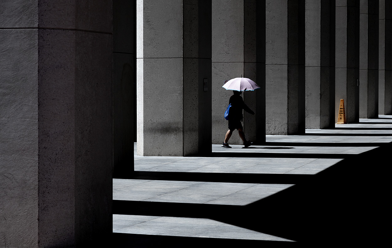 The Umbrella - Street Photography in San Francisco