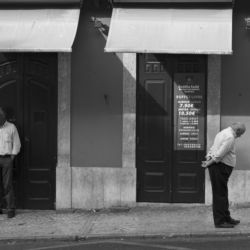 Lisbon Street Conversation