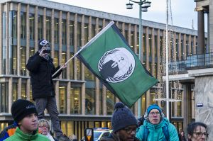 anonymous flag - Je suis Charlie