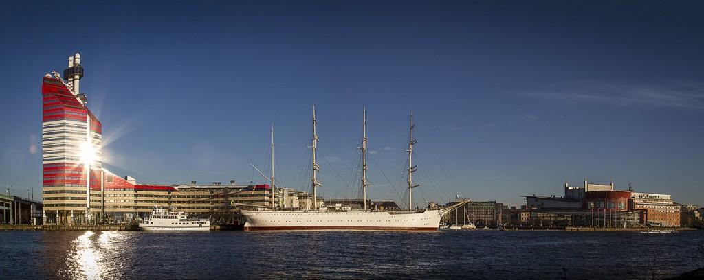 Goteborg Panorama - Harbor Photography